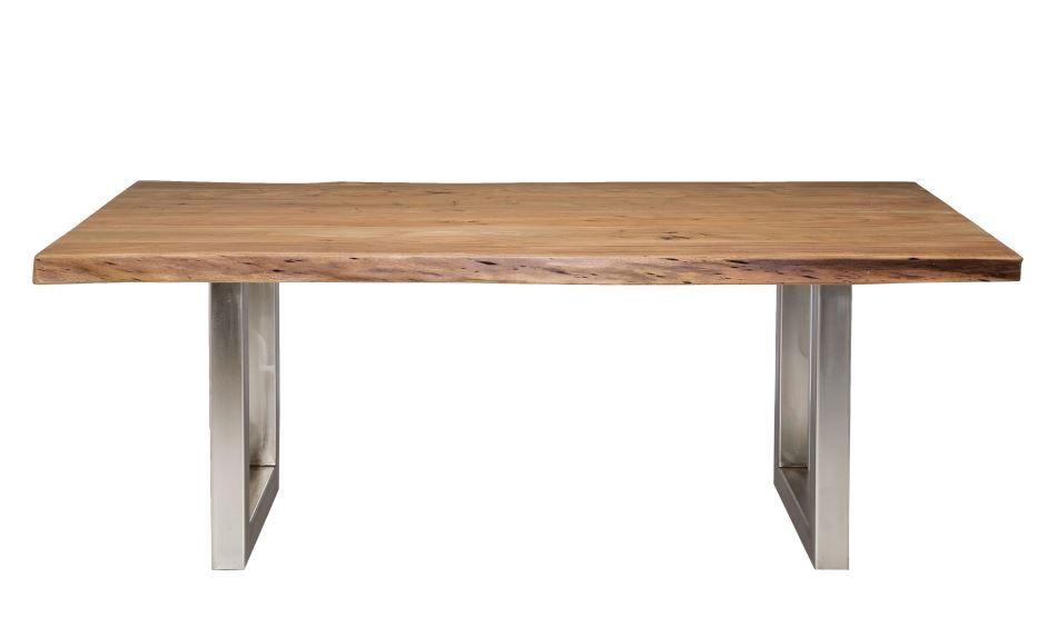 KARE Tisch Nature Line 195 x 110 cm Massivholz Akazie - moderne massivholz esstische