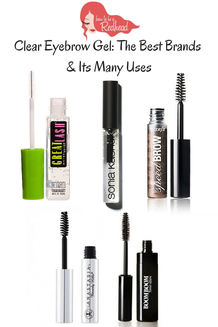 Clear Eyebrow Gel The Best Brands Its Many Uses Redhead Eyebrow