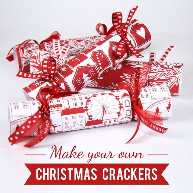 This christmas why not make your own christmas crackers 1 first this christmas why not make your own christmas crackers 1 first cut a sheet of wrapping paper large enough to cover around the cardboard tube solutioingenieria Gallery