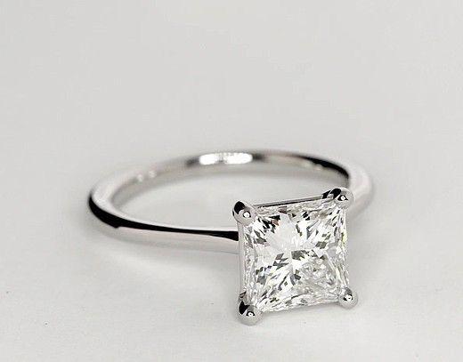 Platinum Protea Solitaire Diamond Engagement Ring Browns I D Just Wear This Unique Diamond Engagement Rings Wedding Rings Solitaire Wedding Rings Engagement