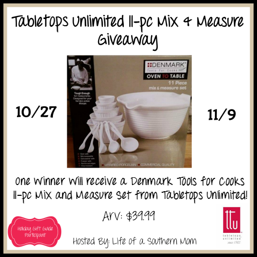 Here We Go Again, Ready?: Tabletops Unlimited 11-pc Mix and Measure Set #Giv...