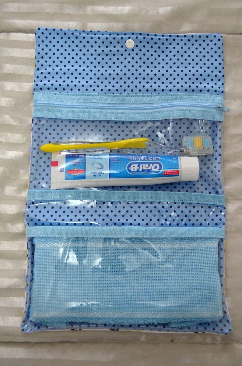 Necessaire Higiene Bucal Ppa01 + Brinde