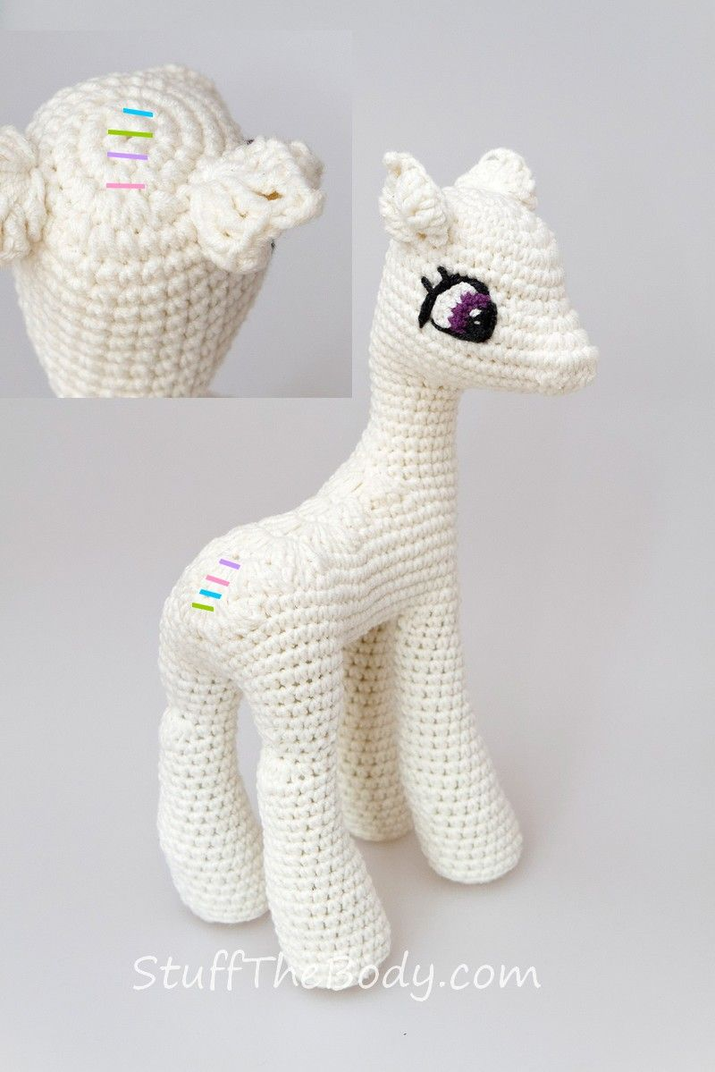 My Little Pony Celestia Amigurumi / Crochet Tutorial | szydelko ...