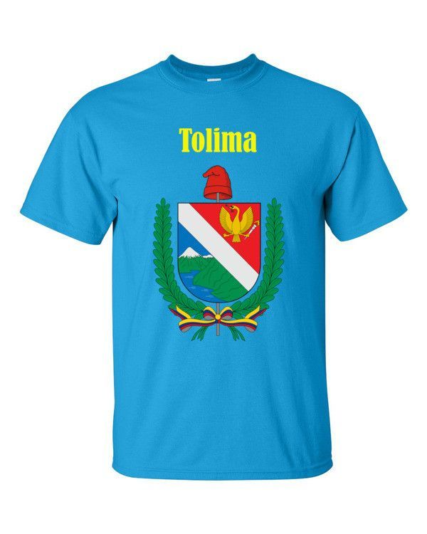 COL-TOL1 Tolima Colombia 2000 Playera Adulto