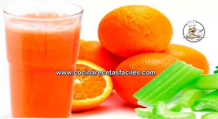 Jugo de naranja y nopal para adelgazar