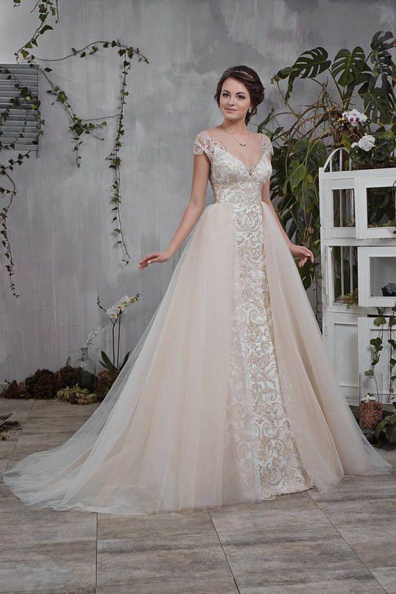Wedding Dress Hochzeitskleid Brautkleid LANA mermaid dress   wedding ...