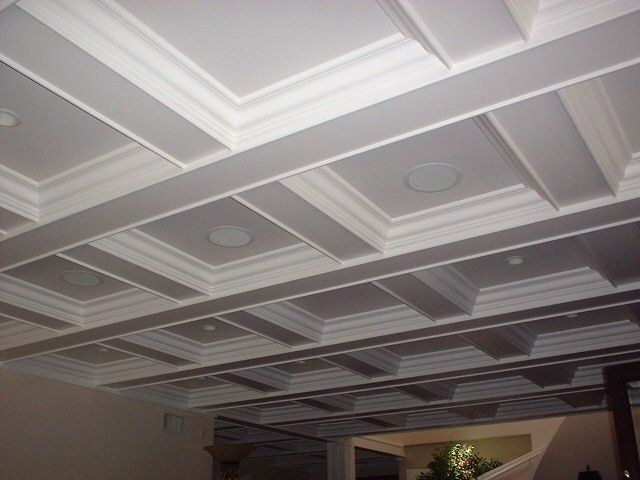 Coffered Ceiling Kits 36 Responses To Coffered Ceiling Layout Coffered Ceiling Coffered Ceiling Design Ceiling Design