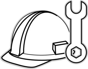 28+ Under construction clipart black and white information