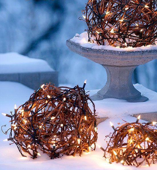 Outdoor Christmas Lights Decorating Ideas Christmas lights