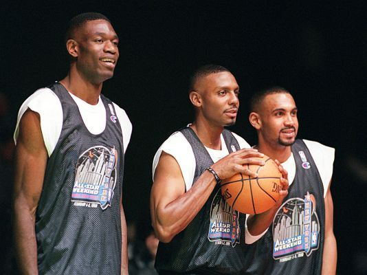 Nba All Star Game 1998 Roster Pictures Newsday All Star Nba Nba Stars