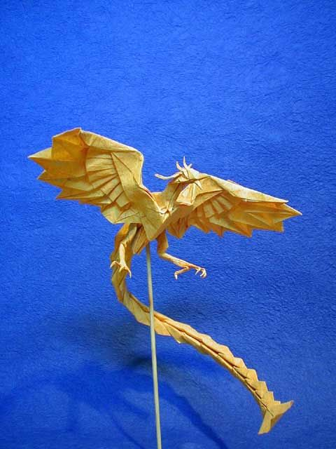 Phoenix Design By Satoshi Kamiya So Amazing Hern Mod Rh Ca Minotaur Origami Diagrams Crane Diagram