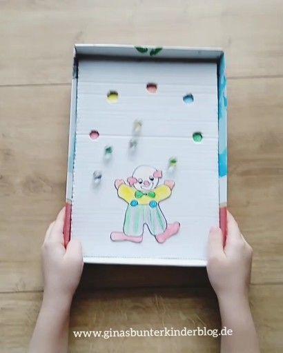 Murmelspiel mit Kindern basteln