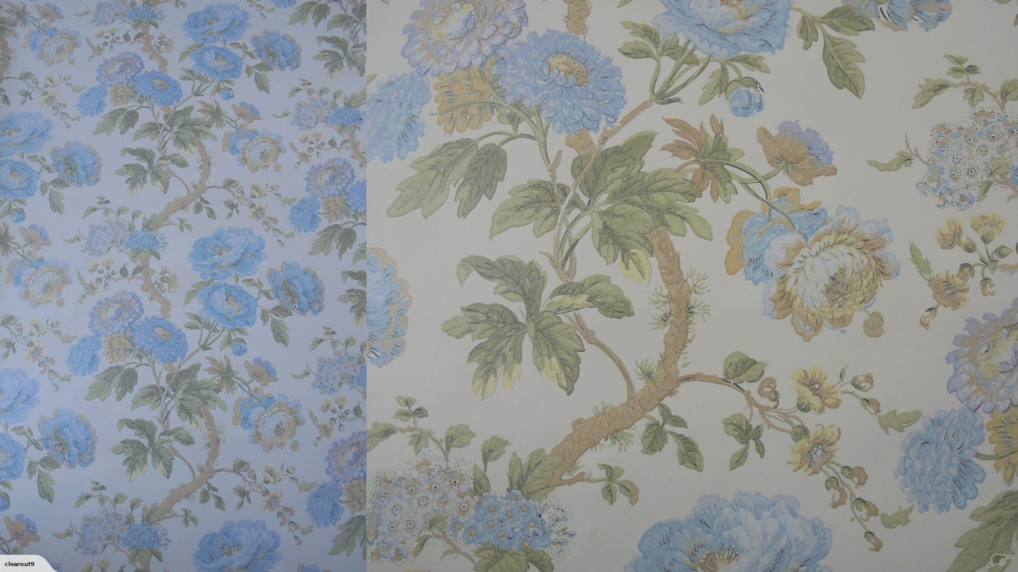 Vintage Italian Embossed Wallpaper Floral Trade Me Floral