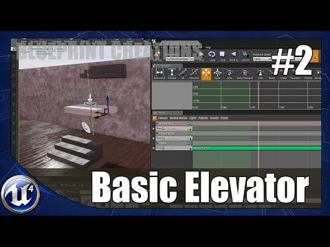 Unreal engine 4 blueprint creations 2 basic elevator youtube unreal engine 4 blueprint creations 2 basic elevator youtube malvernweather Gallery