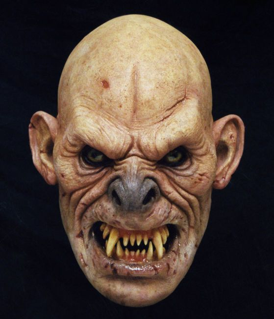 Great wrinkles and angry brow.