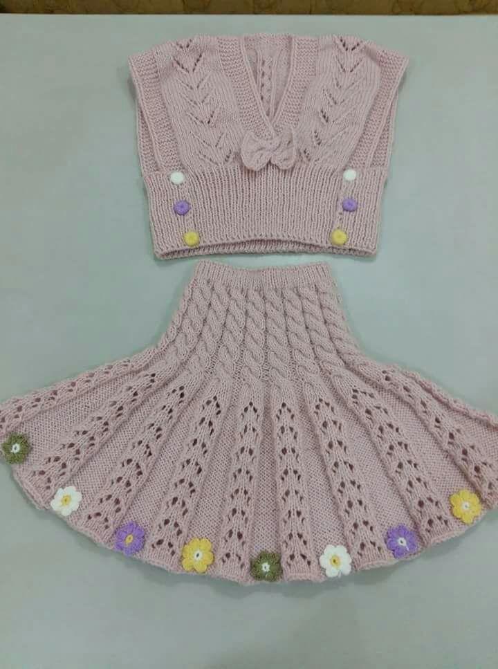 Knitting Skirt For Baby : Huzur sokaĞi yaşamaya değer hobiler bebekler için