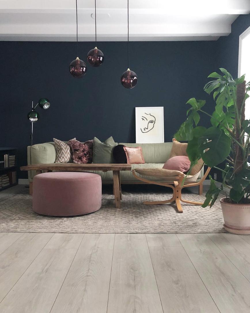 Photo of The for har Pernille vund en en pris for sine farvevalg derhjemme