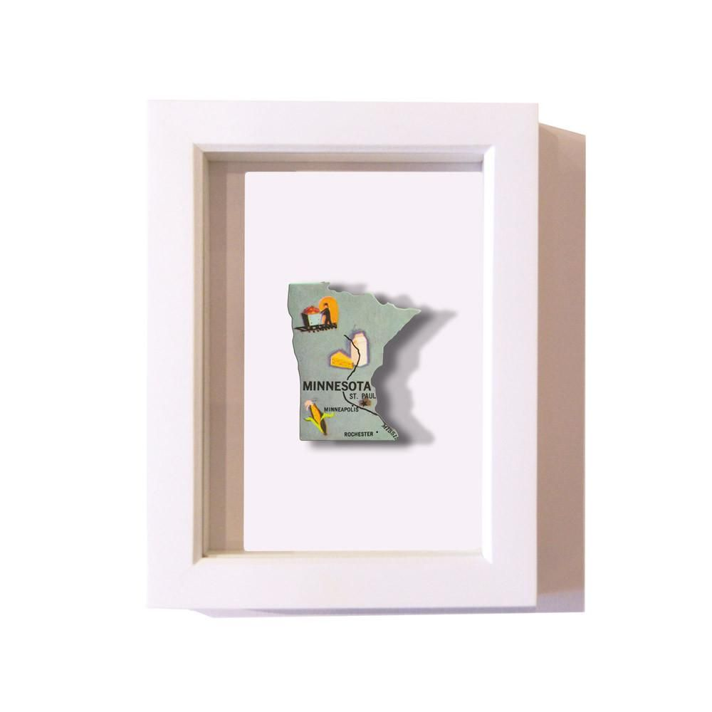 Framed Minnesota Puzzle Piece | Puzzle pieces, Minnesota and Products