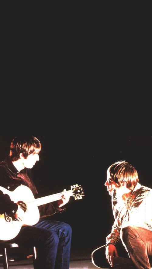 Liam Noel Gallagher Liam And Noel Oasis Album Noel Gallagher