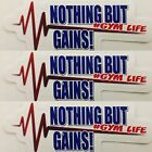 (3) Weightlifting & Powerlifting Sticker #Fitness