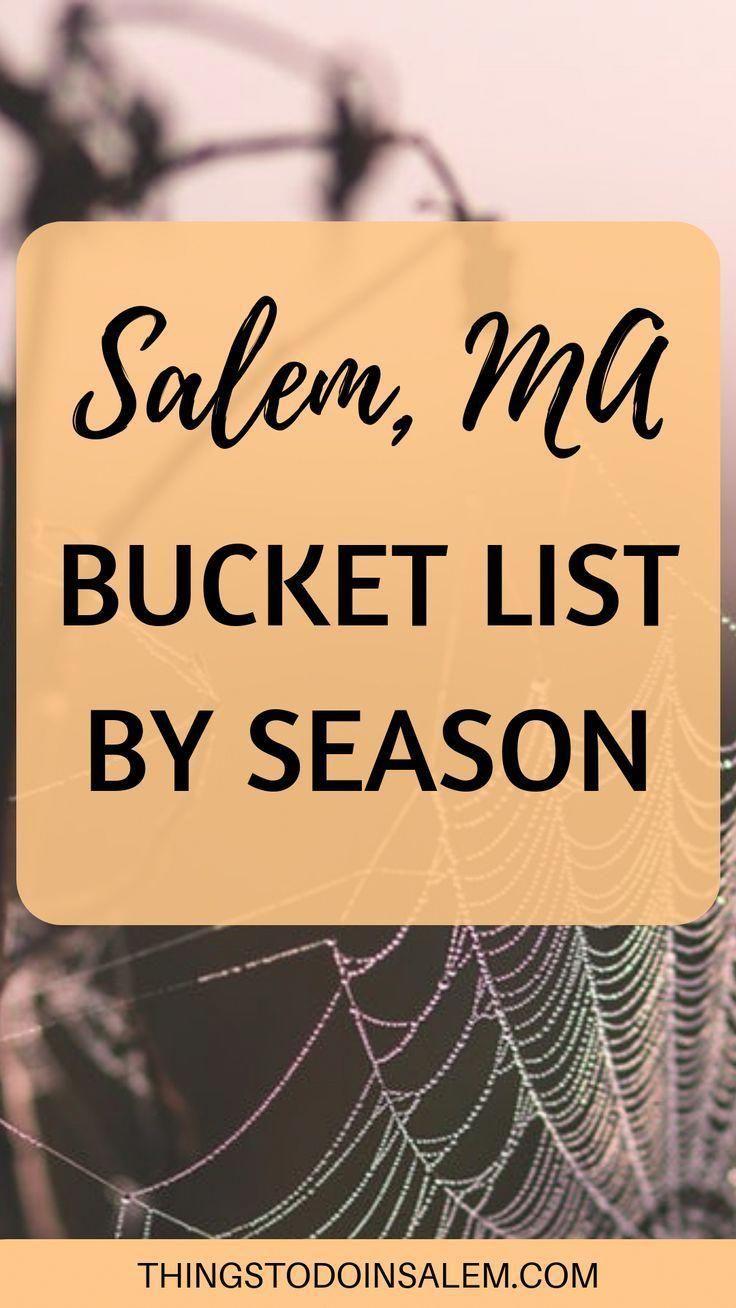 Salem, MA bucket lists by season » Things To Do In Salem