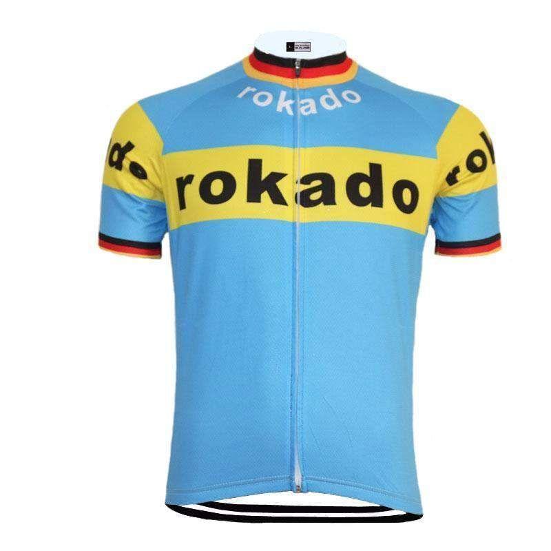 8013dbd17 Retro Team Rokado German Cycling Jersey in 2019