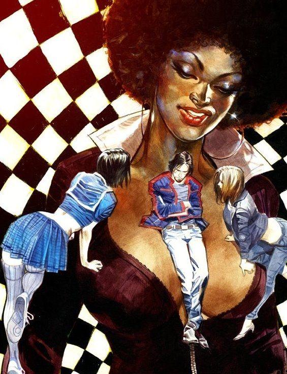 Carnevale - Cover John Doe n. 61 Comic Art