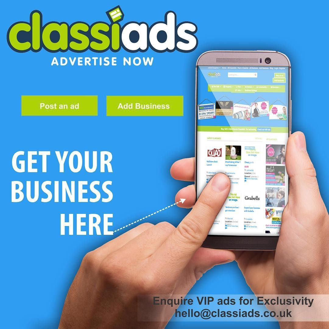 Free Post An Ads And Advertise Your Business On Classiads Co Uk Postfreeadsuk Classified Ukclassified Ukclassifieds Post Free Ads Ads Free Classified Ads