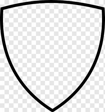 Shield Black Shield Free Png Logo Illustration Airplane Illustration Crown Illustration