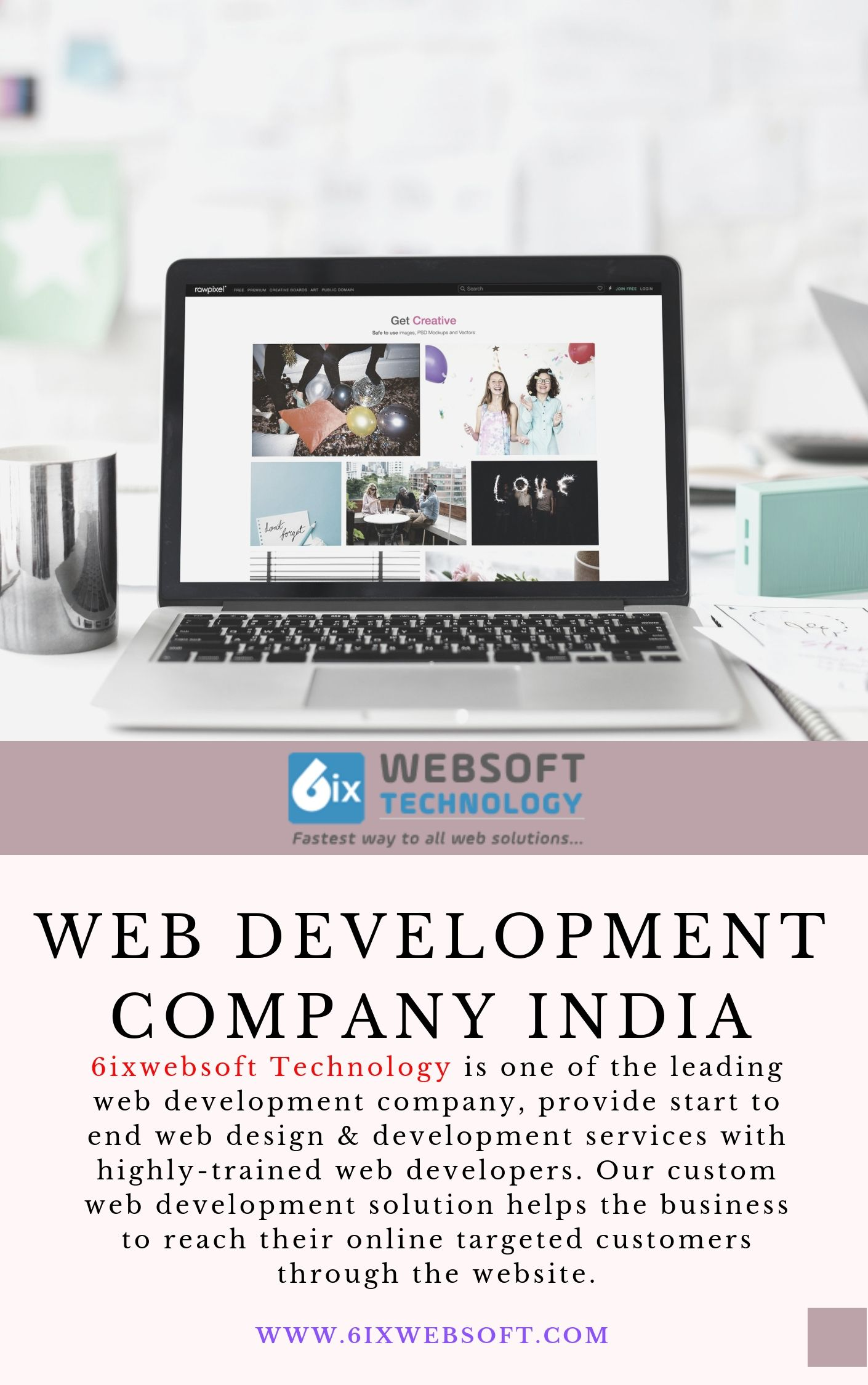 Indian Best Web Development Company 6ixwebsoft Web Development Web Development Company Web Development Design