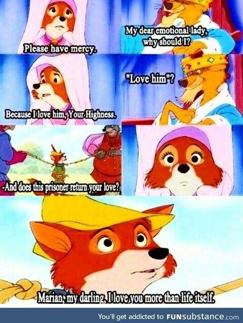 This scene from Disneys Robin Hood - FunSubstance