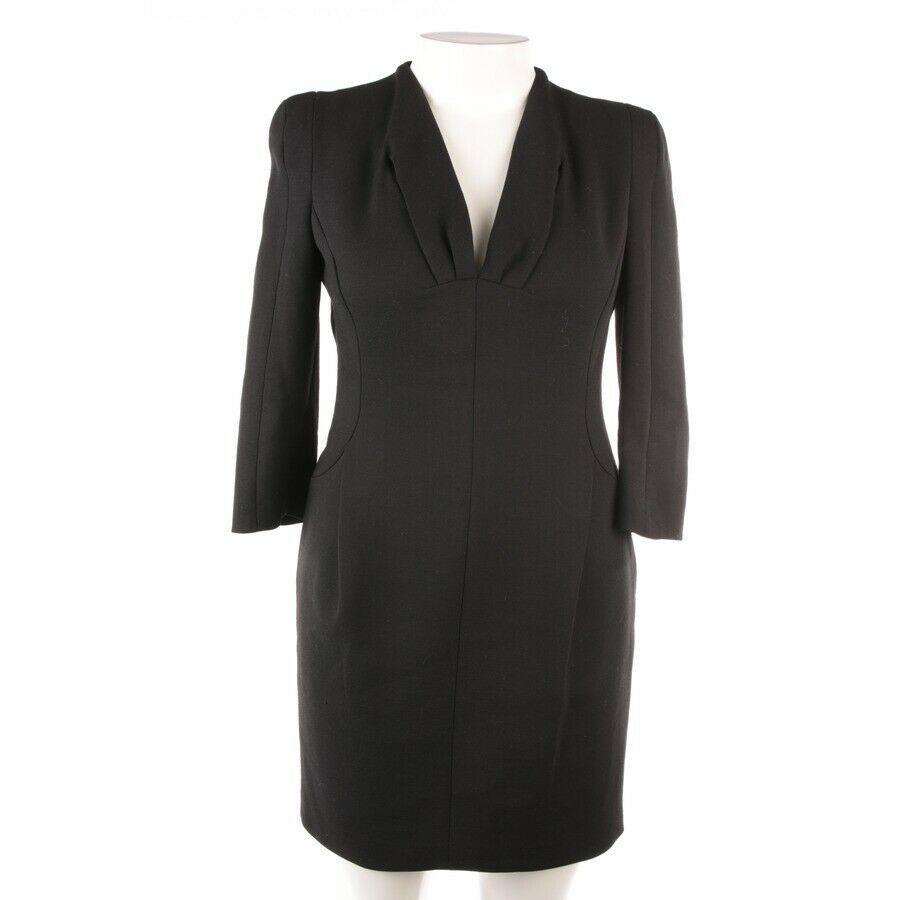 SCHUMACHER Abendkleid Gr. 42 5 Schwarz Damen Dress Robe