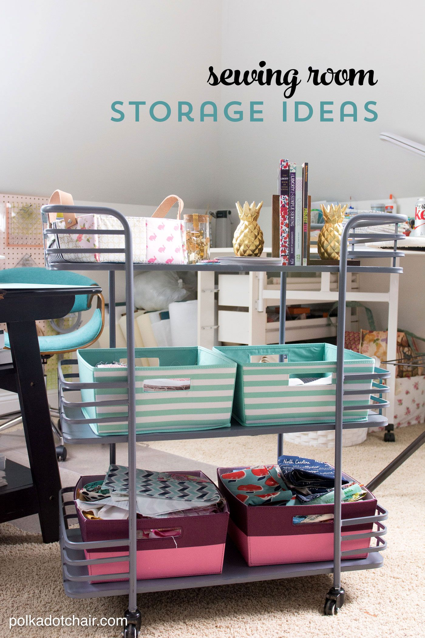 Cute Clever Sewing Room Organization Ideas Homegoods Giveaway