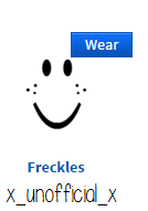 Pin by x_unofficial_x on ROBLOX | Face, Freckles
