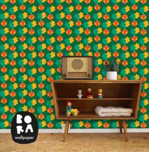 Behang Radijsjes - Bora Wallpaper