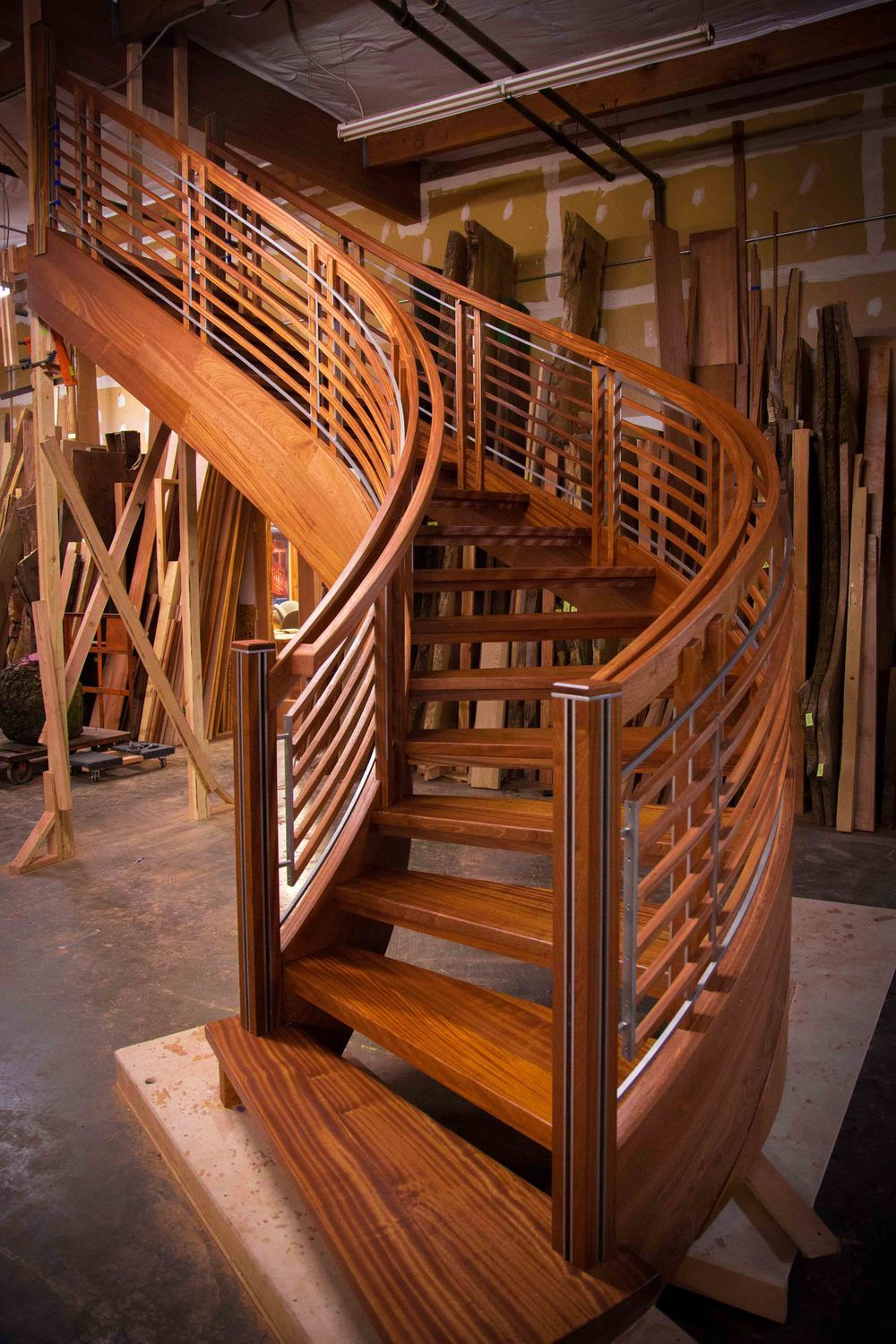 Best Curved Floating Staircase Curved Staircase Stair 400 x 300