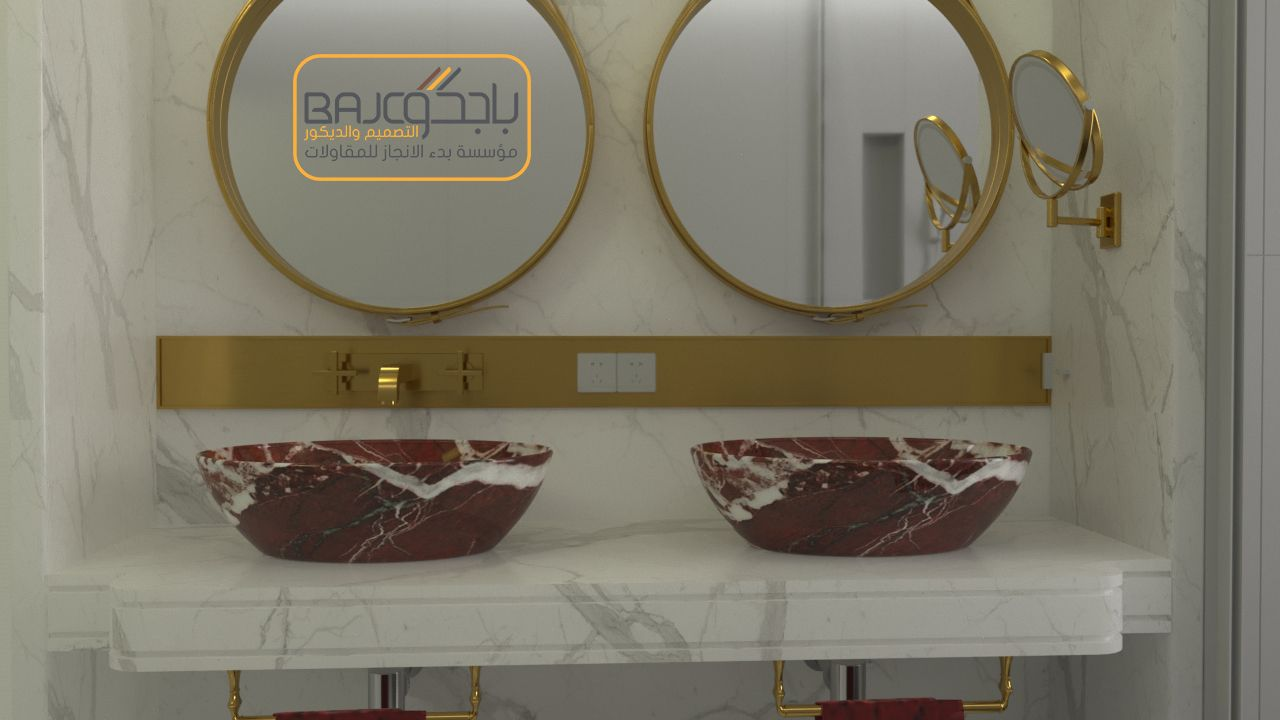 مغاسل رخام Bathroom Mirror Round Mirror Bathroom Mirror Table