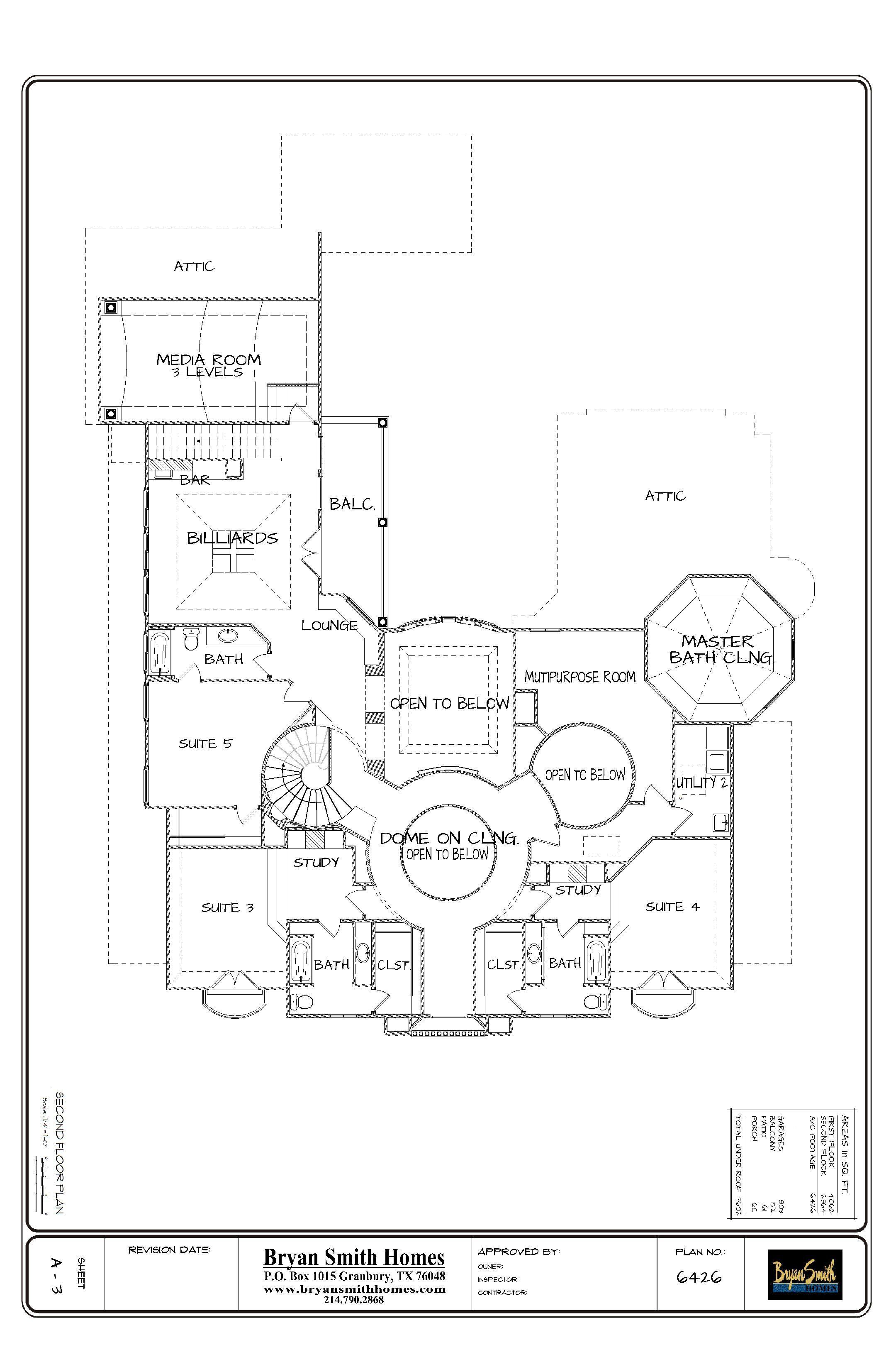 2nd floor presentation sheet for website house plans pinterest Victorian House 2nd floor presentation sheet for website