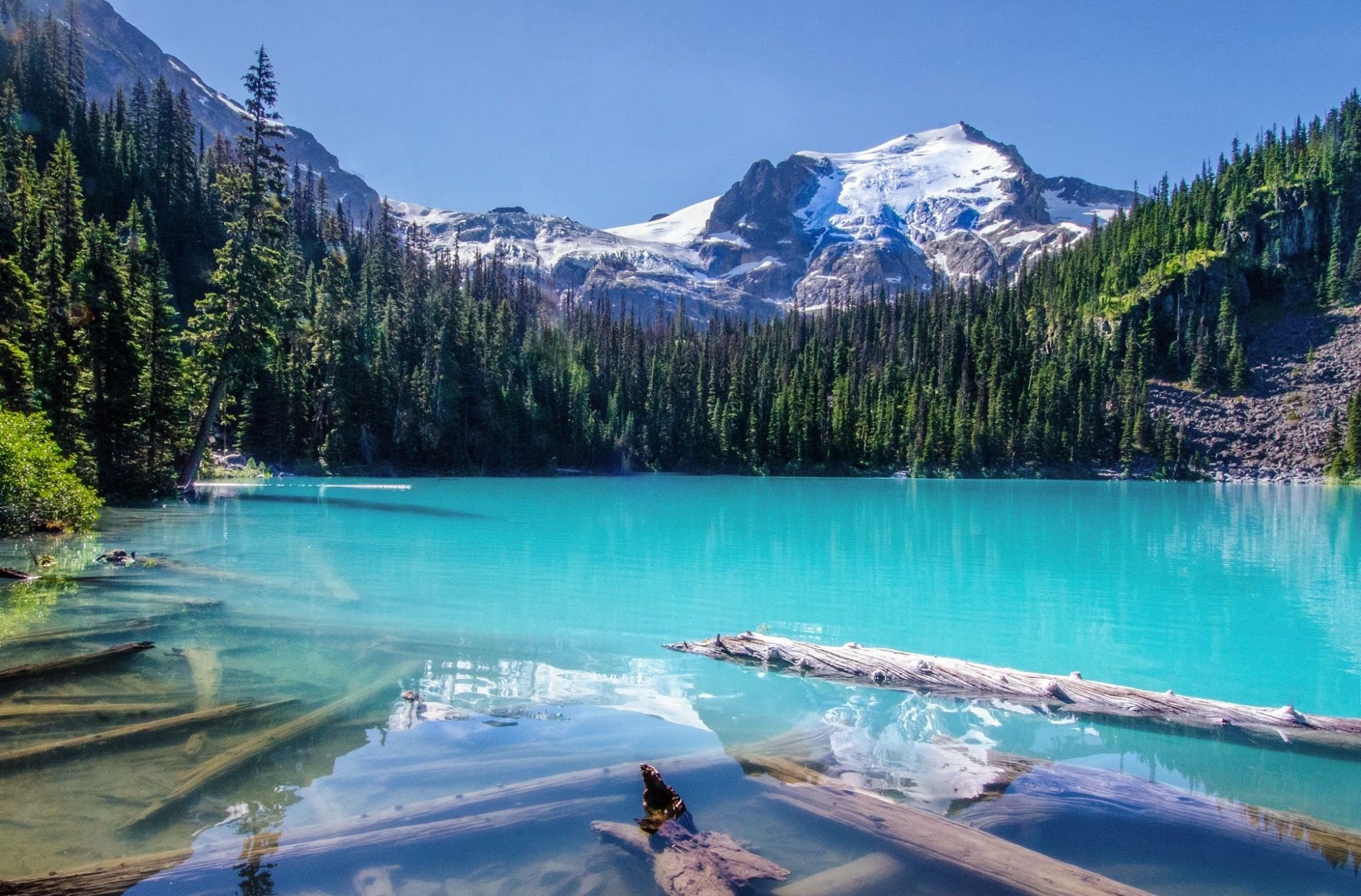 ***Joffre Lakes in summer (between Whistler and Lillooet, BC) by Taka / 500px E