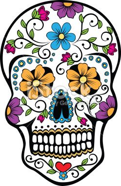 vector illustration of a mexican celebrated holiday day of the dead rh pinterest com day of the dead vector download day of the dead vector free