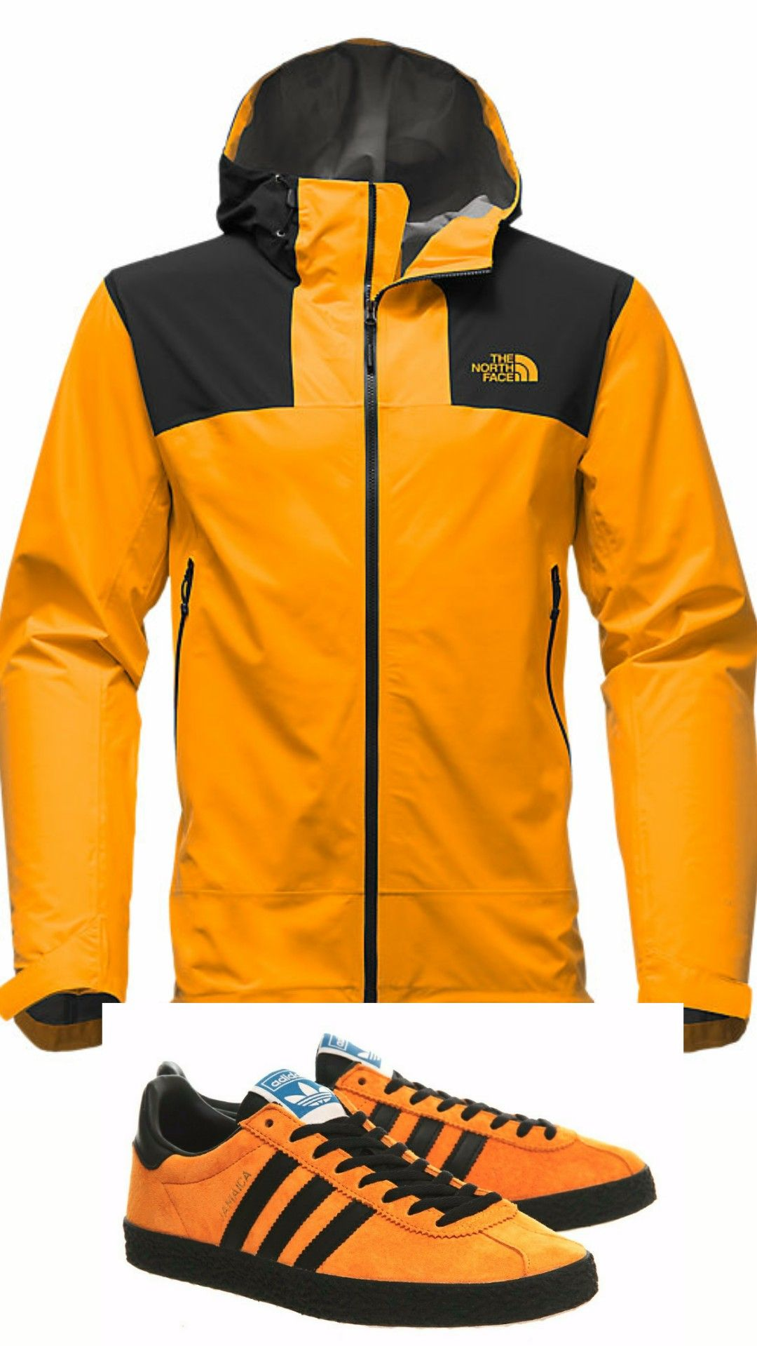 c1841855d524 Adidas Jamaicas are the perfect partner for the North Face Leonidas 2 jacket