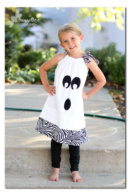 This is cute on halloween :)