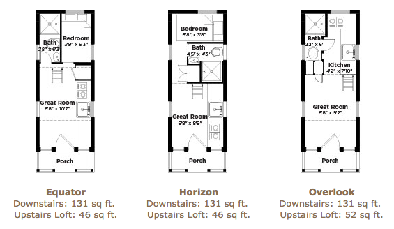 Tumbleweed Tiny House Floor Plans: Linden 20 Tumbleweed Tiny House Floor Plans