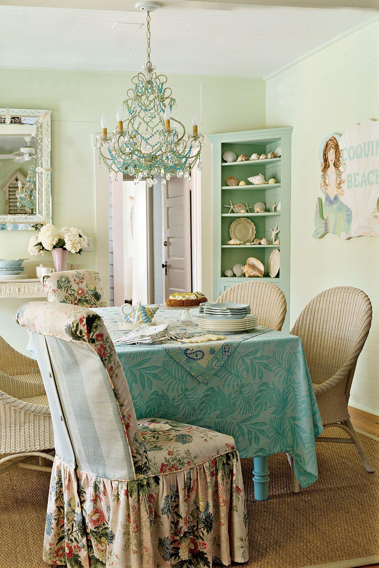 Our Alltime Favorite Green Rooms Salle à manger shabby