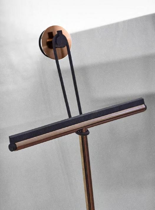 Frost Copper wiper with suction hook
