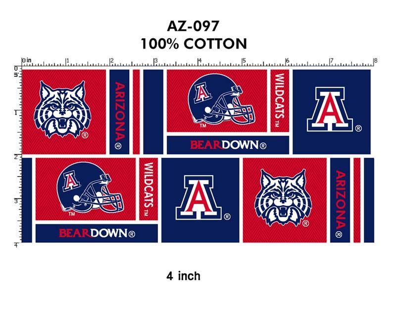 University of Arizona | UNIVERSITY OF ARIZONA, Fabric Store for YOUR College - University