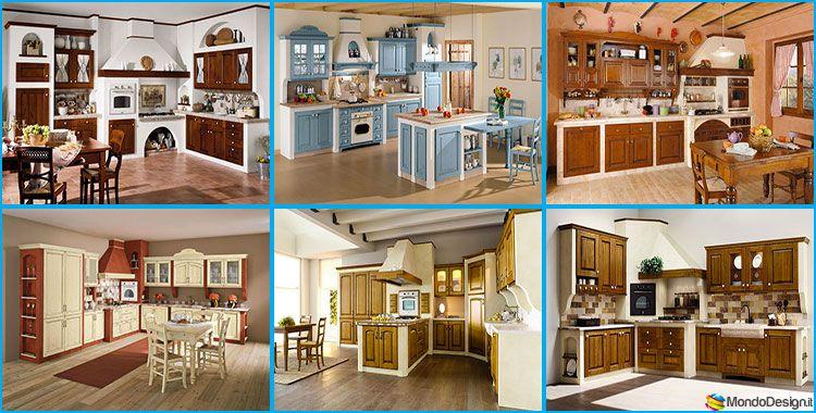 20 Cucine in Muratura in Stile Country | mobili | Pinterest | Cucina ...