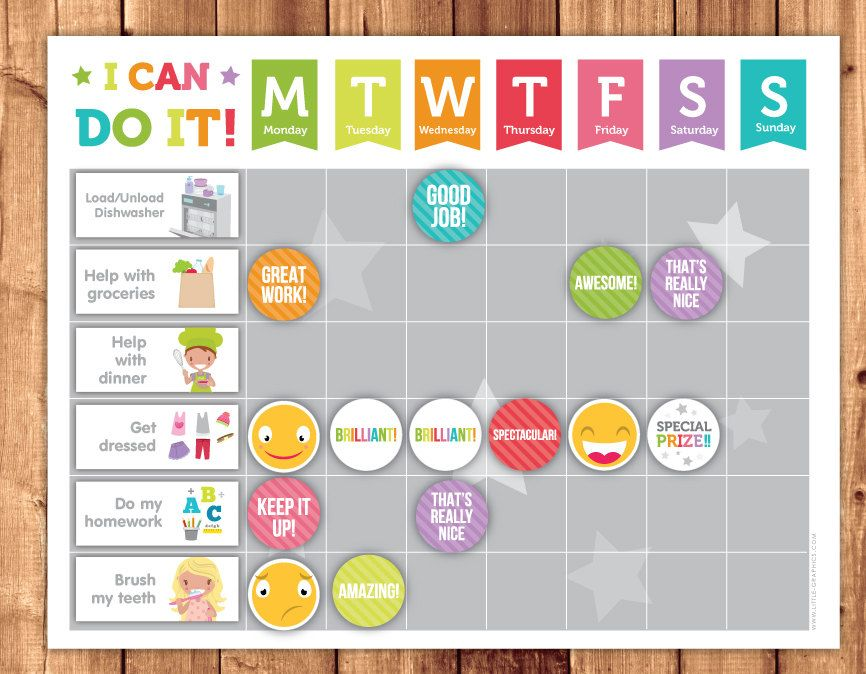 chore cards download - Поиск в Google Дети и порядок Pinterest - child reward chart template