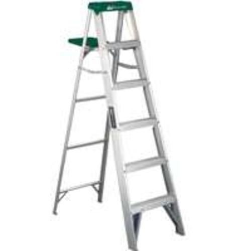Louisville Ladder As4006 Aluminum Type Ii Step Ladder 6 Ladder