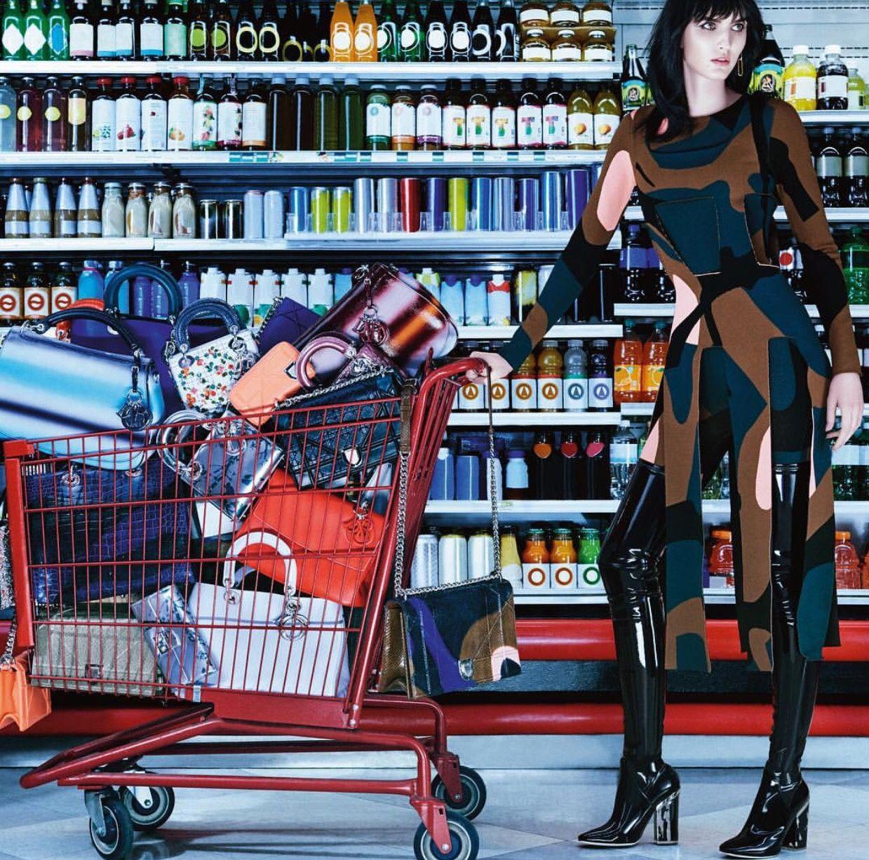 'Shopping Jungle,' Shot By Sebastien Mader For DIORMAG